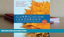 Audiobook  Curriculum Leadership: Strategies for Development and Implementation For Kindle