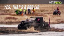 Hydroplaning a Formula Offroad Jeep goes wrong in Iceland!   fun fun fun fun fun fun fun fun fun fun