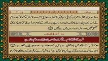 QURAN PARA 28 JUST URDU TRANSLATION WITH TEXT (FATEH