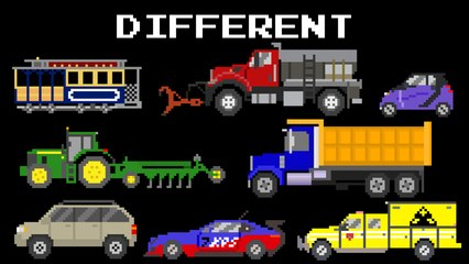 Opposite Vehicles 2 - Railway Vehicles, Street Vehicles, Aircraft - The Kids' Picture Show