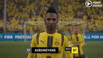 FIFA 17 : les visages et notes du Borussia Dortmund