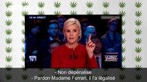 Cannabis : l'intox fumeuse de Benoît Hamon - DÉSINTOX - 24/01/2017