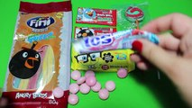 Angry Birds Chewing Gum Mentos Spongebob Candy Party