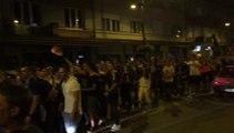 Saint-Dié : la fête rue Thiers après la qualification des...