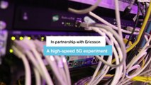 High-speed 5G experiment - Orange and Ericsson