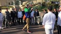 """Le """"Trash Bin Challenge"""", le nouveau défi d'Edmund Platt pour nettoyer Marseille"""