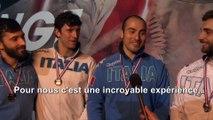 Interview de l'Italie, vainqueur de l'épreuve par équipes du CIP 2017