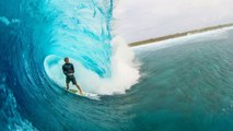 Ian Walsh Surfs Insane Barrels With World Champ, John John Florence | Distance Between Dreams