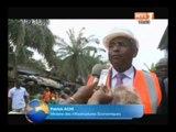 RTI - Patrick Achi visite le chantier de la station de traitement d`eau potable
