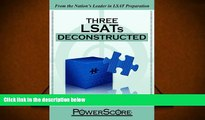 PDF [FREE] DOWNLOAD  The PowerScore LSAT Deconstructed Series: Three LSATs Deconstructed David M.