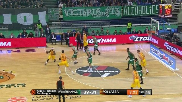 Basket - Euroligue (H) : Le Panathinaikos enfonce le FC Barcelone