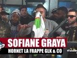 Freestyle de Sofiane, Graya, Hornet la frappe, RK, GLK, Big Nas & Co dans Planète Rap