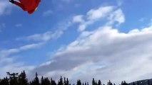 Adrénaline - Ski : Un saut très mal maîtrisé...