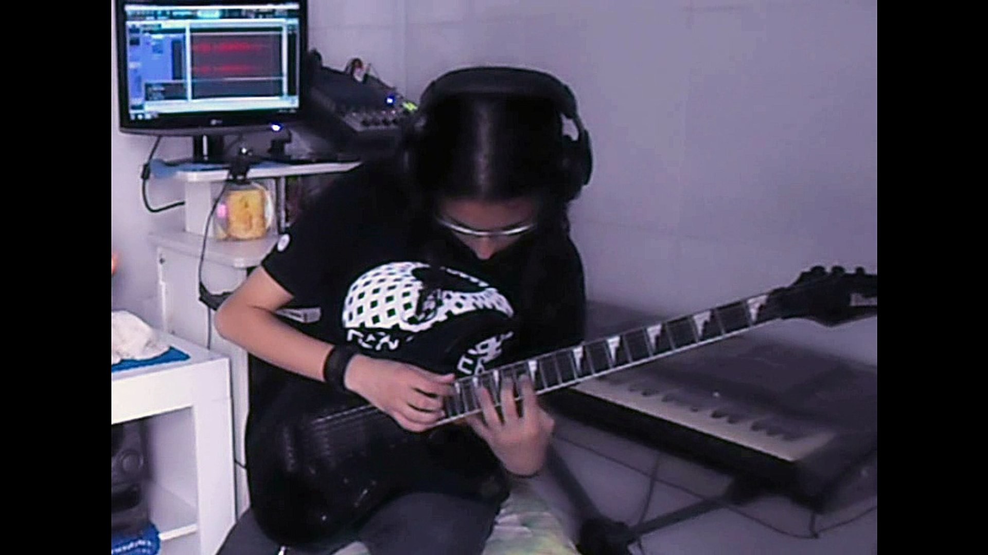 Guitar Solo Shred Heavy Metal Rock