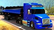 Euro Truck Simulator 2 - TRANSPORTANDO ETANOL 20 TONELADAS l VOLVO NH12 LOGITECH G27