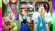 Disney Princess Frozen - Fashion Rivals - Anna Elsa Frozen Games