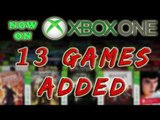13 New Backwards Compatible Games Added So Far This Month (Jan 19 Update)