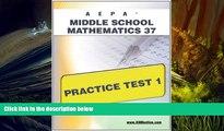 Read Book AEPA Middle School Mathematics 37 Practice Test 1 Sharon Wynne  For Full