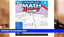 Download Carson Dellosa Common Core 4 Today Workbook, Math, Grade 2, 96 Pages (CDP104591) Pre Order