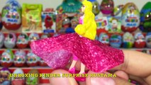 64 Киндер Сюрпризов,Unboxing Kinder Surprise Giants Eggs,Frozen,Маша и Медведь,Angry Birds,Ам Ням