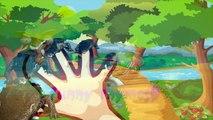 Crocodile Finger family 3d rhyme | Lion Vs Crocodile | Elephant Vs Crocodile
