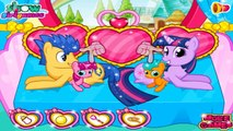 Twilight Sparkle Gave Birth Twins | Best Game for Little Kids - Baby Games To Play