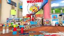 Lightning McQueen VS Francesco Bernoulli   Final Race! - Cartoon Lego Disney Cars Games Fo