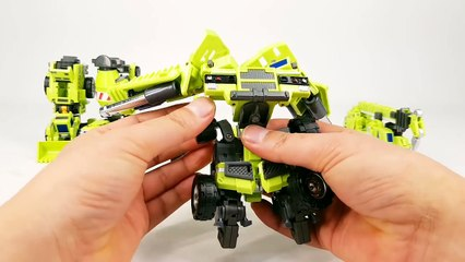 Transformers Construction Devastator MakeToys Giant Type 61 Vehicle Combine Robot Car Toys