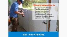 Garage Door Repair Richmond Hill - Residential & Commercial