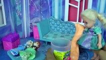 SLIME Joke in ELSAs Ice Palace! Anna & Elsa toddlers Prank Fun
