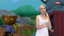 Мишка стишок с действиями | песни для детей | 3D детские для малышей с текстами