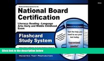 Read Book Flashcard Study System for the National Board Certification Literacy: Reading - Language