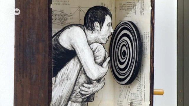 Francês leva arte de rua para galerias