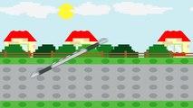 Видео для детей: полицейский Лего автомобиль | Мультфильмы для детей | ABC песня | колеса на автобусе | детей