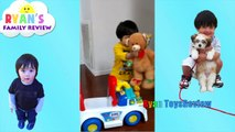 RYAN TOYSREVIEW MOM FACE REVEALED! NEW CHANNEL Ryans Family Review Twins Baby Tummy Time