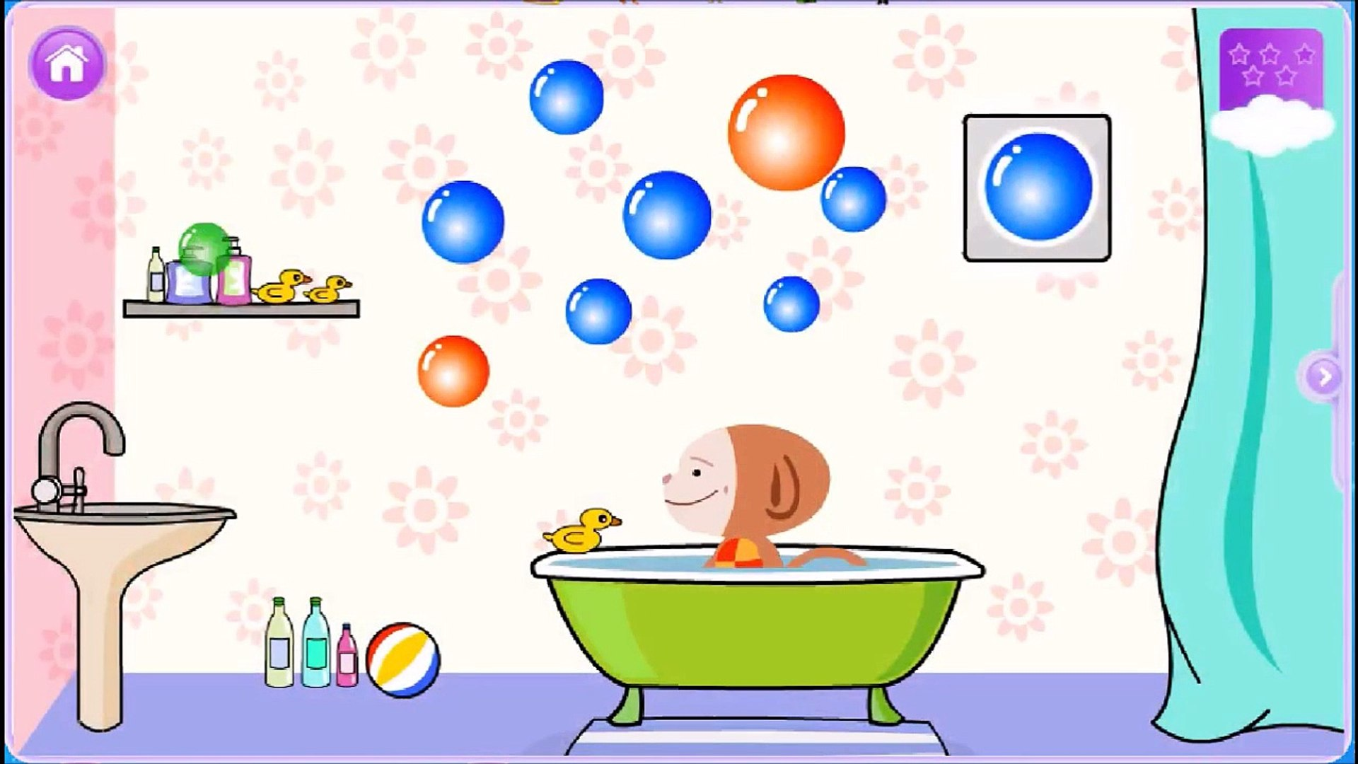 Learning Colors with Bubbles - Baby educational Videos for Kids - Toddler Education