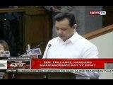 QRT: VP Binay, hinamon si Sen. Trillanes sa isang debate