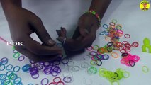 Fun Rainbow Loom Bands! Easy How to Make Bracelet with Rubber Bands | Rubber Bands For Kids