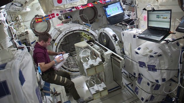 Launching satellites from Space Station �€� step two