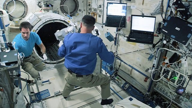 Launching satellites from Space Station �€� step one