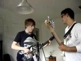 manu ( guitare) et Ludo ( basse) en impro totale !!
