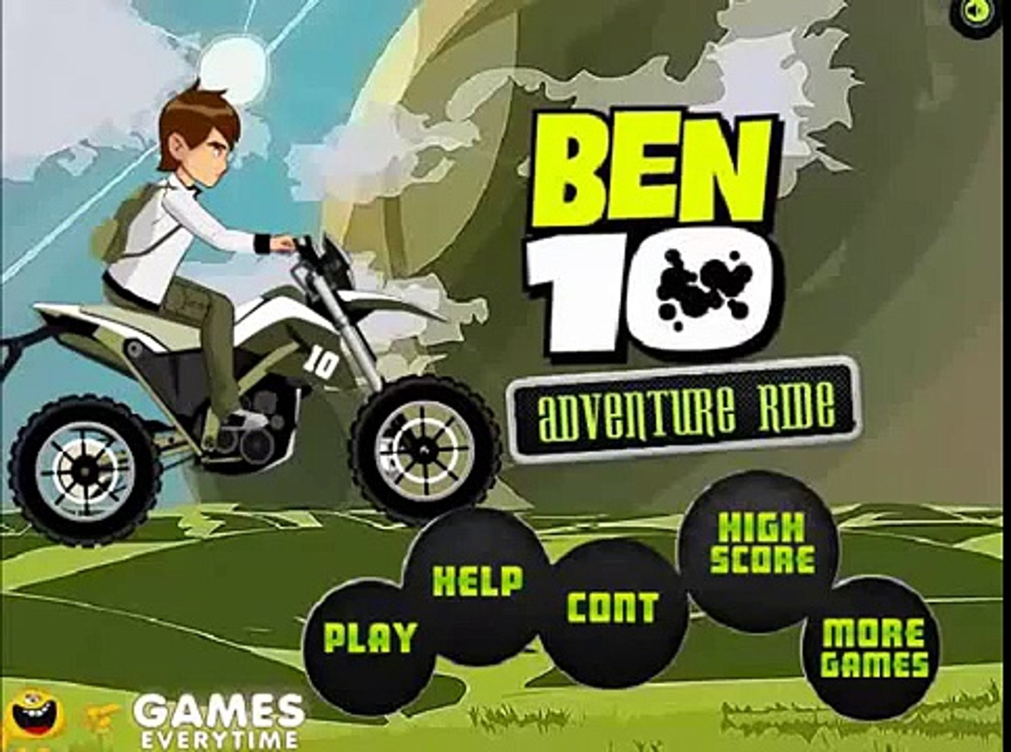 Ben 10 adventures ride - ben 10 cartoon game