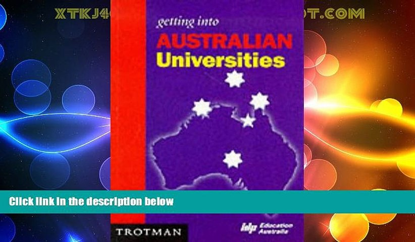 Big Deals  Getting into Australian University and College (MPW  Getting Into  Guides)  Best Seller