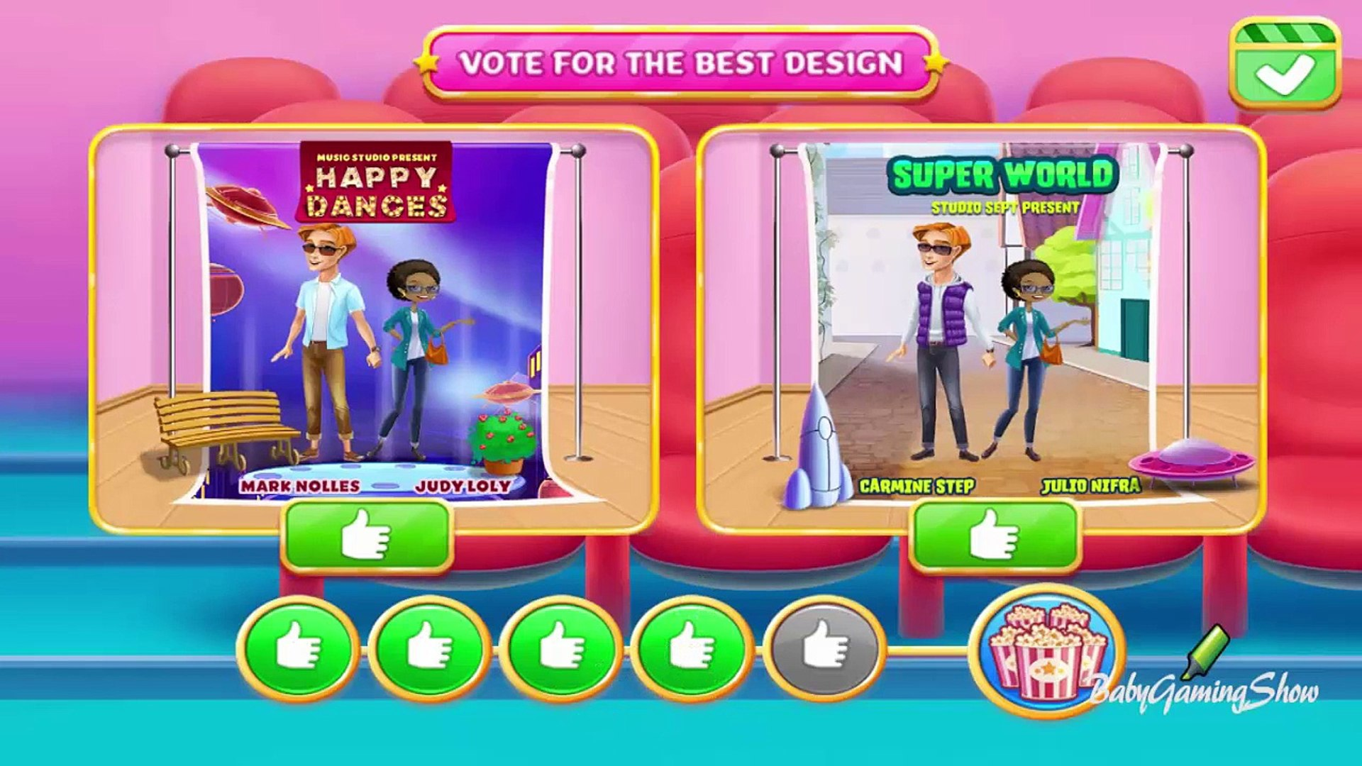 Baby Games For Kids - Kids Movie Night Run your very own movie theater