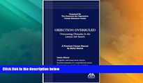 Big Deals  Objection Overruled: Overcoming Obstacles in the Lawyer Job Search  Best Seller Books