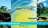 Must Have  Experiential Legal Writing: Analysis, Process, and Documents (Aspen Coursebook)