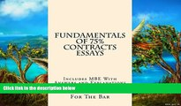 Full Online [PDF]  Fundamentals Of 75% Contracts Essays: 9 dollars 99 cents only! Electronic