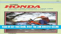 [FREE] EBOOK Honda: 50-110Cc Ohc Singles 1965-1996 ONLINE COLLECTION