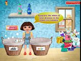 Dora the Explorer Washing Clothes - Fun Cleaning Game for Girls