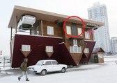 Această casă, a fost construită INVERS, stai numai să vezi înteriorul!